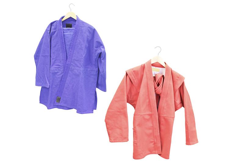 Куртка для борьбы самбо